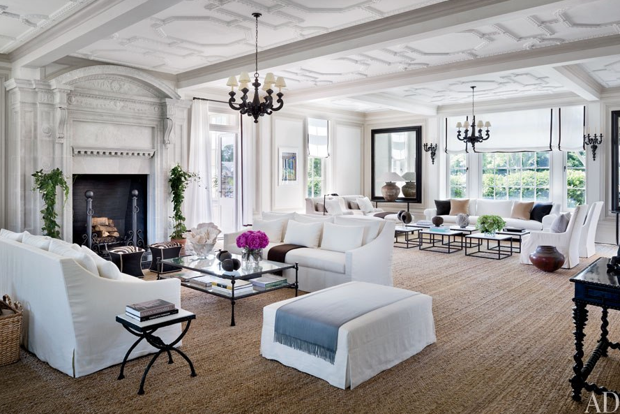 Décor Inspiration | At Home With: Louise and Vince Camuto, The Hamptons