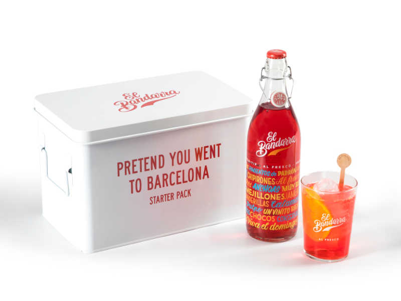 Pretend you went to Barcelona Starter Pack