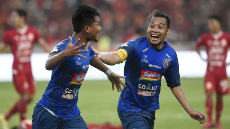 Hasil Liga 1 2019 Pekan ke-15: Arema Menang Tipis atas Barito Putera 2-1