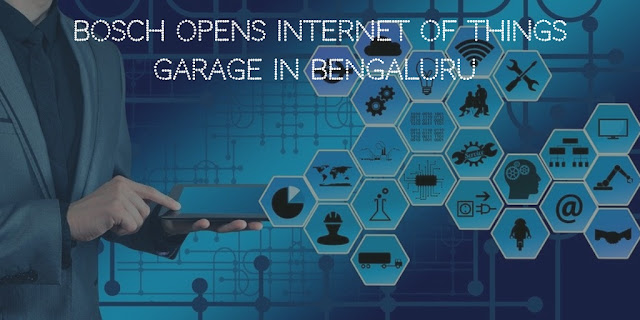 Bosch opens Internet of Things garage in Bengaluru