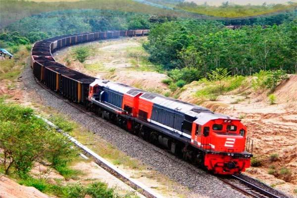gambar kereta api barang