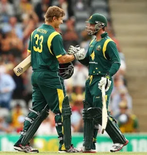Shane Watson 122 - Australia vs West Indies 3rd ODI 2013 Highlights