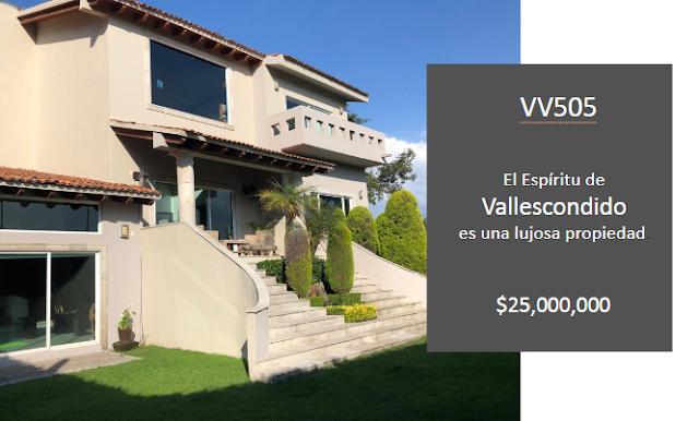 El Espíritu de Vallescondido es una lujosa propiedad.