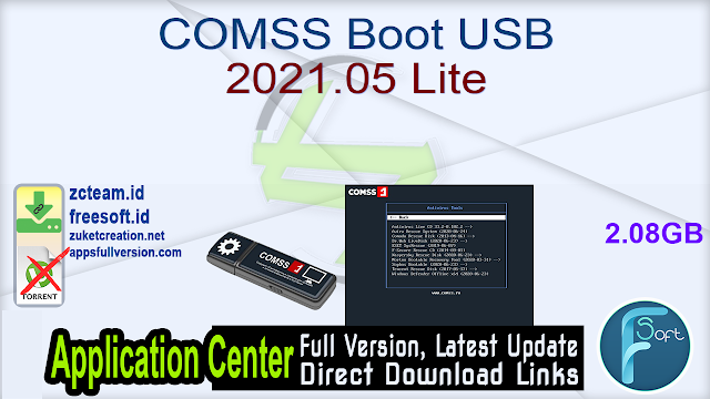 COMSS Boot USB 2021.05 Lite_ ZcTeam.id