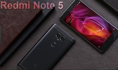 xiaomi redmi note 5 smartphone