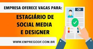 Estagiário de Social Media e Design Gráfico