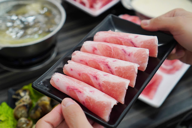 台南永康區美食【和之國麻辣鍋】餐點介紹-1盎司肉盤