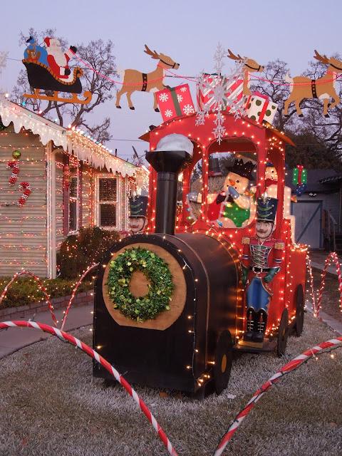 Snowman Toy Train,