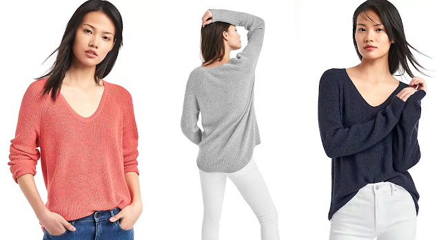 Gap Soft Textured Merino Wool Sweater $24 (reg $60)