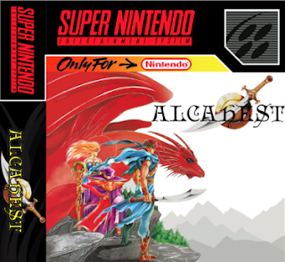 Alcahest snes rom cover RPG