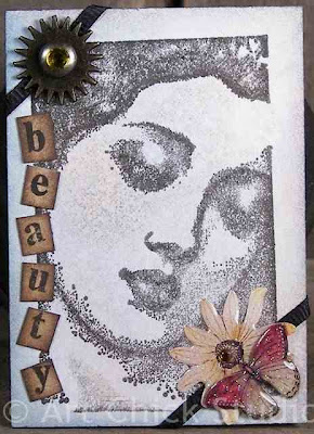 Beauty Altered Art ACEO
