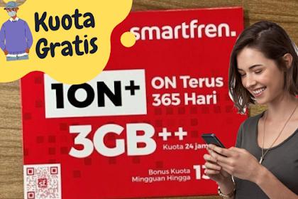 Cara mendapatkan kartu dan kuota gratis smartfren Terbaru