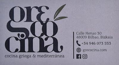 Restaurante Grecocina Bilbao