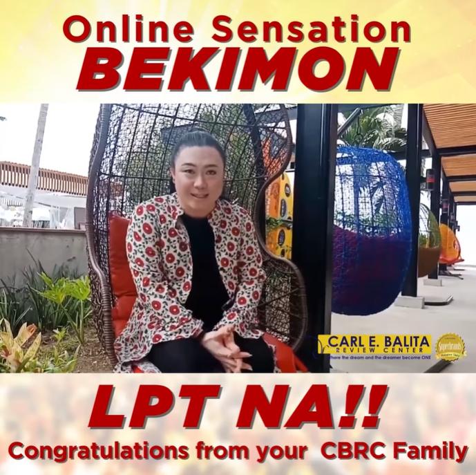 Bekimon passes LET, shares struggle with depression