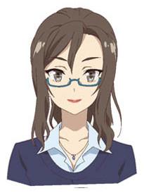 Mikako Komatsu como Sanae Kozuki