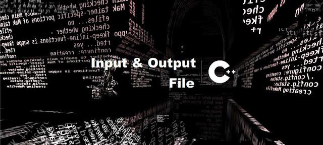 Cara dan Contoh Pembacaan (Input) dan Penulisan (Output) File C++ - belajar C++