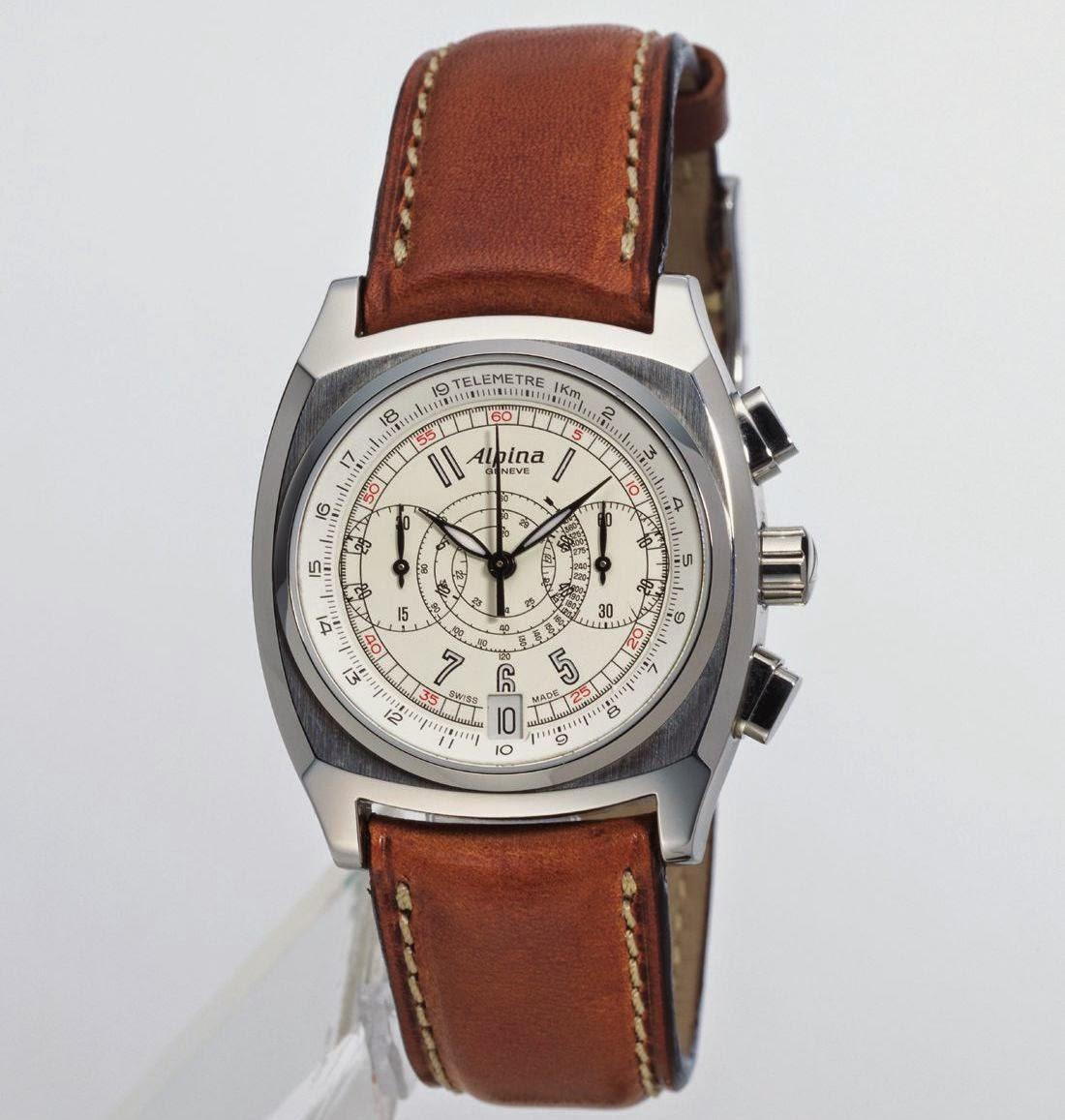 ALPINA Heritage Chronograph, Steel Version