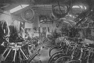 Capsall Cycle Works - Stock Room