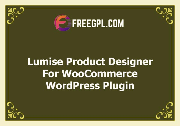Lumise | Product Designer For WooCommerce WordPress Nulled Download Free
