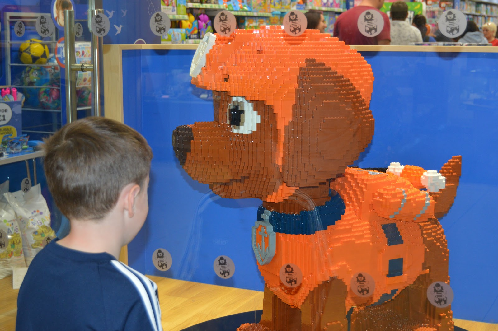 Paw Patrol lego bricks