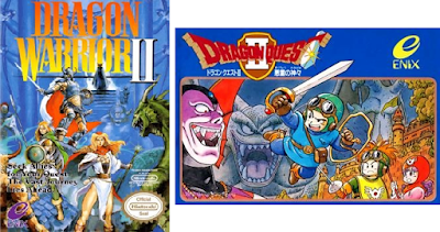 Dragon Warrior II - Caja NTSC USA + Caja NTSC Japon