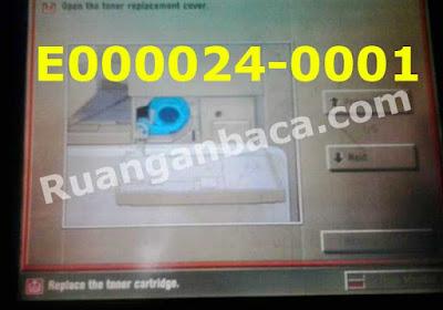 Solusi Mudah Atasi Error E024 Mesin Fotocopy canon Ir 4570/3570/2270