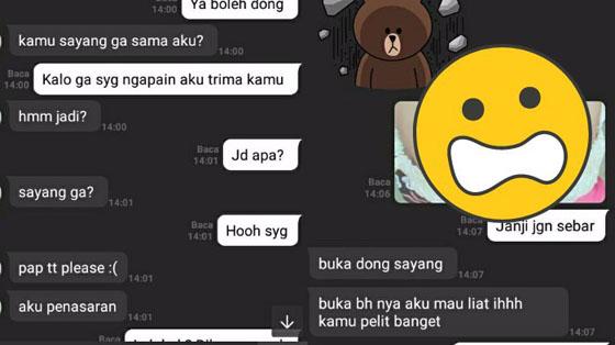 Bikin Ngakak! Screenshot Percakapan Cowok Minta Foto Hot Pada Kekasihnya Yang Jadi Viral