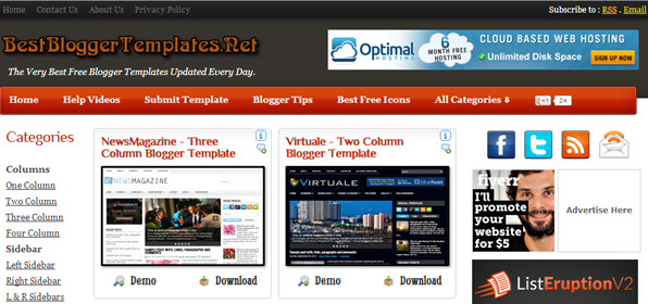 blogger templates by best blogger templates