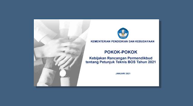 Rancangan Permendikbud tentang Juknis BOS Tahun 2021