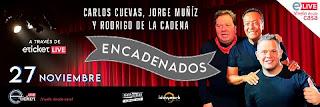 Concierto Carlos Cuevas, Jorge Muñiz y Rodrigo De La Cadena