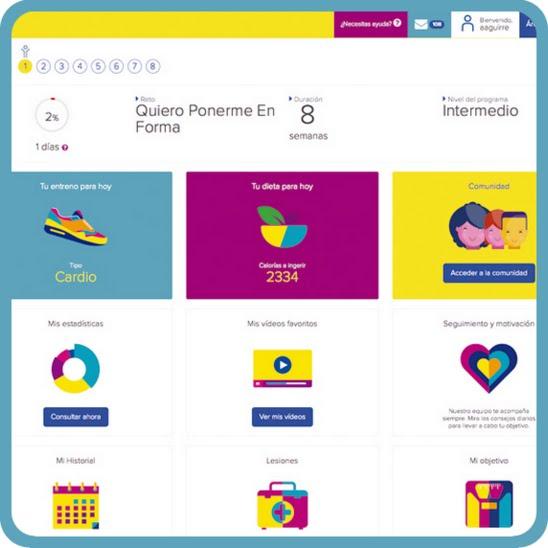 La webapp del seguro Aviva Vital