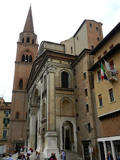 The Basilica of Sant'Andrea in Mantua.