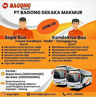 Loker Surabaya Terbaru di PT. Bagong Dekaka Makmur November 2019