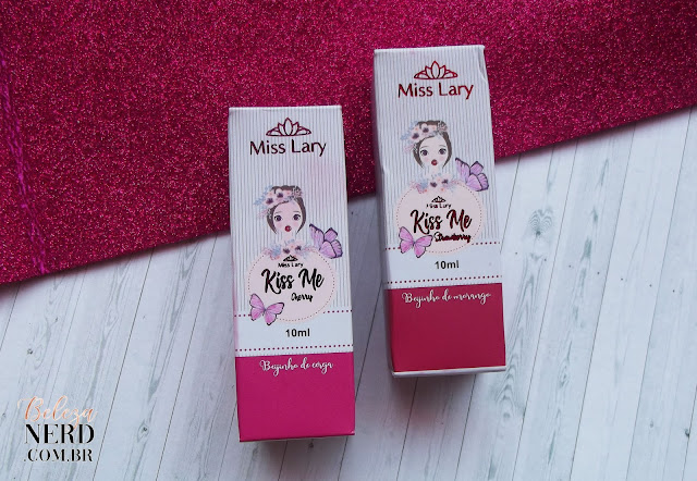 Resenha lip tint Kiss Me Miss Lary