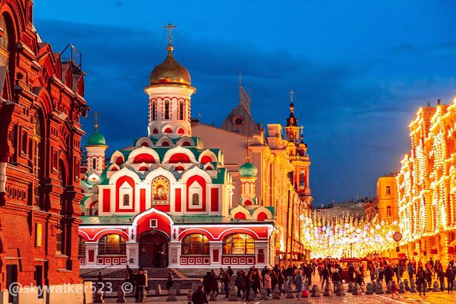喀山大教堂Казанский собор на Красной площади