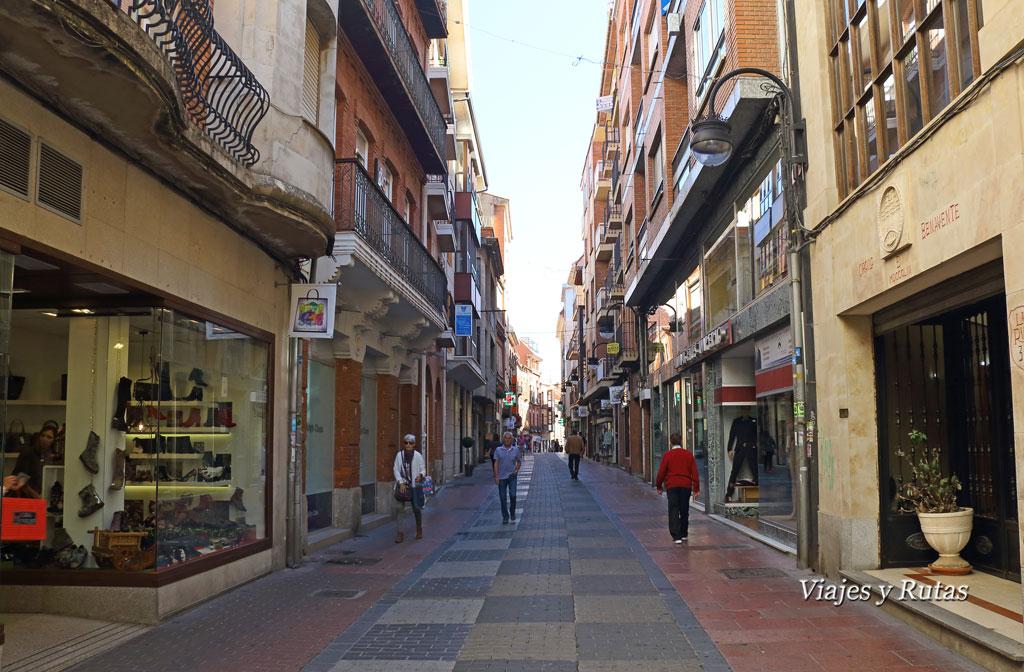 Calle de la Rúa, Benavente, Zamora