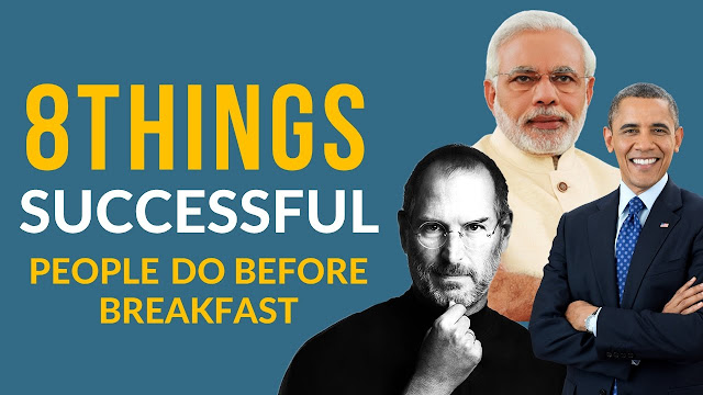 8 Things Successful People Do Before 8am (Secret)