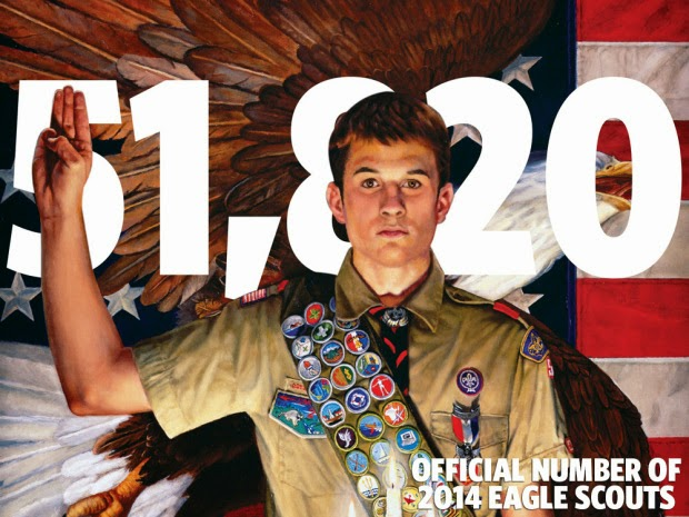 51,820 New Eagle Scouts Last Year
