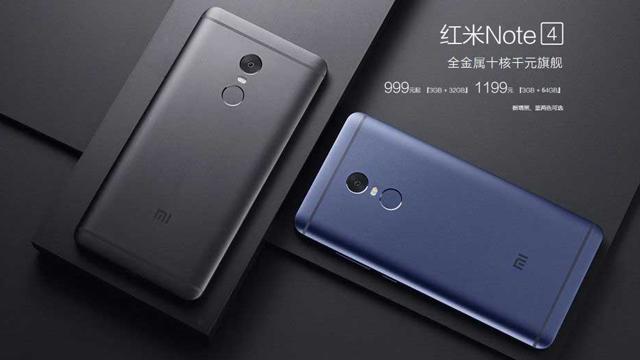 Harga Xiaomi Redmi Note 4 Snapdragon Dan Spesifikasi Ram 4 Gb