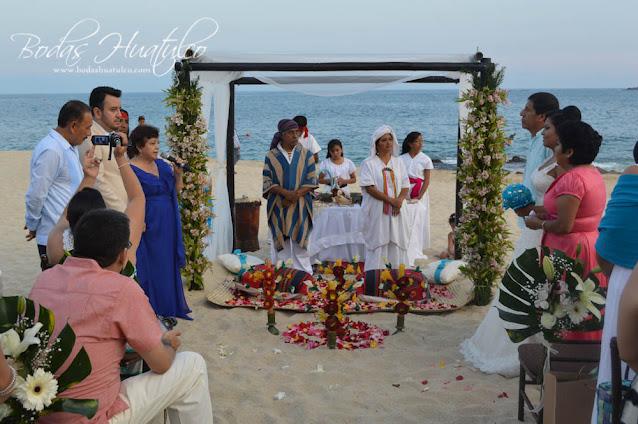 Boda en playa, Bodas Huatulco, Beach Wedding