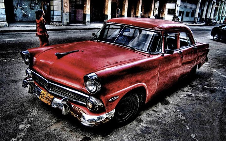 klasik araba resimleri