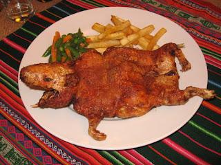 Cocina Ecuatoriana - Cuy Asado