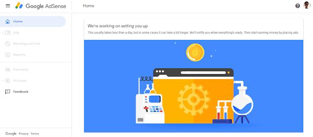 Cara mendaftar google adsense pada blogspot