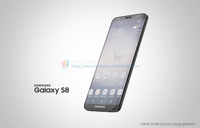 Awesome Samsung Galaxy S8 renders make me want one