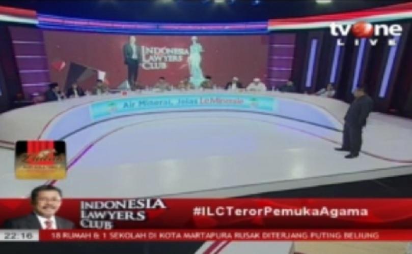 ILC teror ke pemuka agama