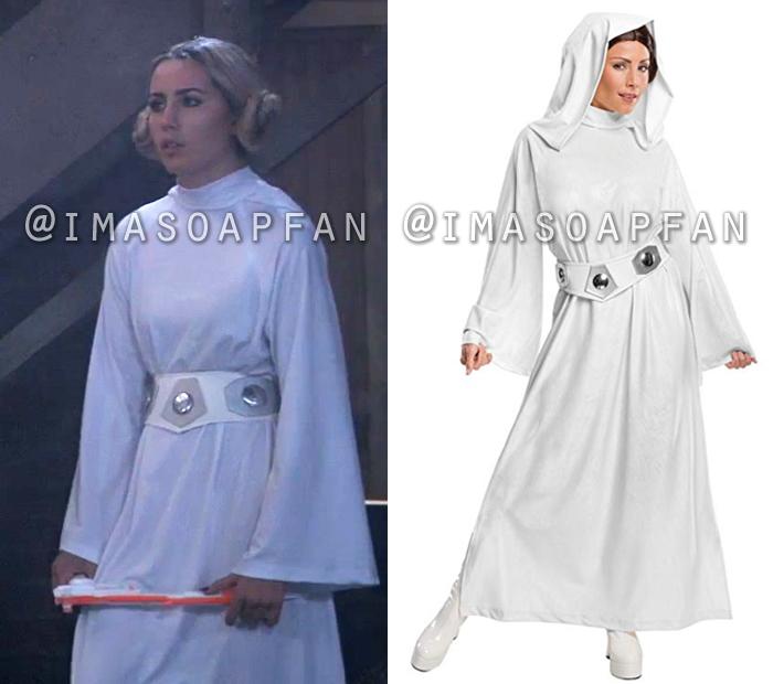 Josslyn Jacks, Eden McCoy, Star Wars Princess Leia Costume, General Hospital, GH