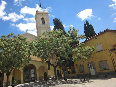 Santa Magdalena Church in Esplugues de Llobregat