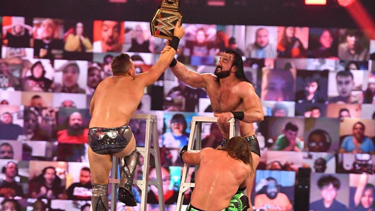 The Miz, Drew McIntyre, and AJ Styles on WWE TLC