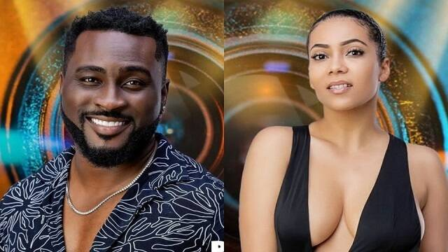 Maria and Pere were the the wildcards in this season BBNaija show