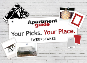Your picks. Your place. Sweepstakes grinning cheek to cheek.